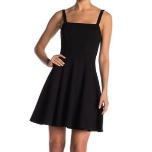 Bailey/44 Seam Pointe Fit and Flare Black Dress